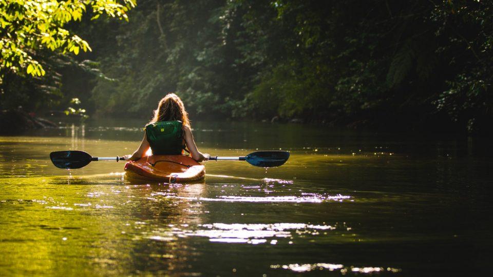 Solo Kayaking