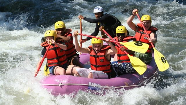 Professional Rafting Techniques