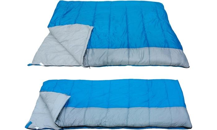 Redstone Outdoors Single/ Double Sleeping Bag